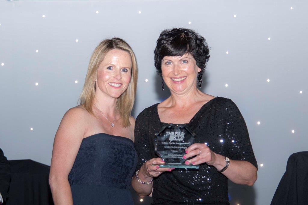 Yorkshire PA Hub Yorkshire PA of Year Award 2016 - Melanie Richardson 02