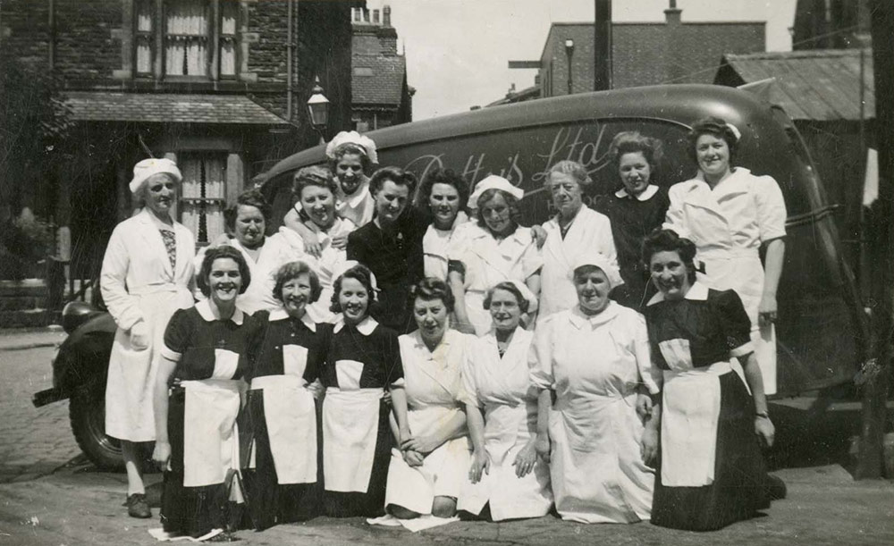 Bettys staff, c.1940s